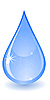 Vector clipart: drop of water