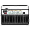 Vector clipart: portable radio in black casing. EPS1