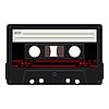 Vector clipart: audio cassettes