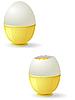 Vector clipart: eggs with yolk