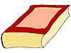 Vector clipart: an old book