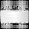 Vector clipart: metal background and broken glass