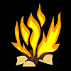 Vector clipart: fire