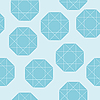 Vector clipart: Seamless texture with blue elements