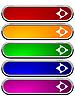 Векторный клипарт: Длинные кнопки