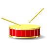 Vector clipart: Drum