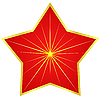 Red star | Stock Vector Graphics