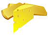 Vector clipart: Cheese and bread