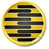 Vector clipart: Button