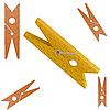 Vector clipart: Clothespin
