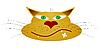 Векторный клипарт: кошка