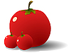 Vector clipart: Tomatoes
