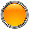 Vector clipart: glossy yellow button