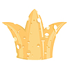 Vector clipart: the crown of cheese