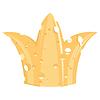 Векторный клипарт: Корона сыра