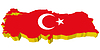 Vector clipart: 3D map of Turkey