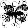 Векторный клипарт: абстрактной гранж татуировки