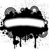 Векторный клипарт: Дизайн абстрактные татуировки гранж