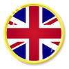 Vector clipart: button with flag United Kingdom