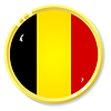 button with flag Belgium