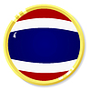 Vector clipart: button with flag Thailand