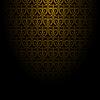 Векторный клипарт: Абстрактный фон с золотым узором.