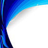 Vector clipart: blue background.