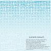 Векторный клипарт: абстрактный фон с элементами чипа.
