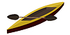 Vector clipart: canoe paddle.