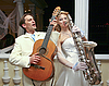 Bride and groom at wedding party | Stock Foto