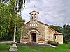 Фото 300 DPI: Небольшой церкви в провинции Шампань. Франция