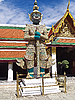 ID 3200568 | Statue of Guardian in Grand Palace in Bangkok, Thailand | Foto mit hoher Auflösung | CLIPARTO