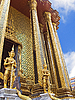 Guards of the temple Wat Phra Kaew in Bangkok | Stock Foto