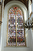 Stained glass in church. Netherlands, Delft | 免版税照片