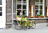Two bicycle near store. Den Bosch. Netherlands | Stock Foto