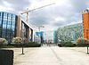 Photo 300 DPI: New buildings in Brussels. European Parliament, Belgium