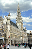 Grand Place and Grote Markt in Brussels, Belgium | Stock Foto