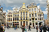 Brussels grand place building, Belgium | Stock Foto