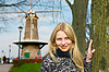ID 3328814 | Girl near windmill in Dutch town of Gorinchem. | High resolution stock photo | CLIPARTO
