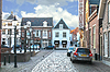 In Dutch town of Heusden | Stock Foto
