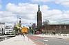 On streets of Rotterdam | Stock Foto