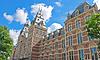 Rijksmuseum in Amsterdam. Netherlands   Stock Foto
