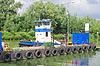 荷兰造船厂码头拖轮。荷兰 | 免版税照片