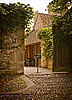 Entrance to yard in Cambridge | Stock Foto