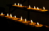 Candles in church | Stock Foto