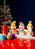 Three snowmen | Stock Foto