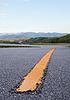 Dividing line of freeway | Stock Foto