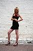 섹시한 금발 모델 | Stock Foto