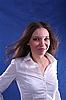 Intelligent Looking Female | Stock Foto