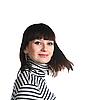 Schöne Frau, brünett | Stock Photo